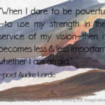 Dare to be powerful